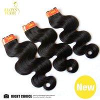 Wholesale Brazilian Body Wave Virgin Hair Weave Bundles Unprocessed Brazillian Remy Human Hair Extensions Tangle Free Hair Wefts Can Dye
