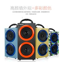 audio fashion - Portable Wireless Bluetooth Speakers Outdoor Sports Subwoofers Handsfree with Mic Support TF Card FM Radio Fashion Luxury Loud Speakers