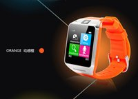 android telephones - GV08 Reloj inteligente Montre intelligente telephone bluetooth Android SIM Card Smart Wrist Watch pulsera For samsung Smartwatch