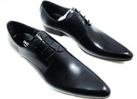 2016 novos homens de luxo vestir sapatos de rendas até cap-toe de couro genuíno designer italiano dos homens sapatos de couro formais tamanho 37-45