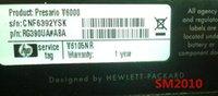 All'ingrosso-Per HP Compaq scheda madre dv6000 V6000 434.724-001 434.726-001 integrato per Intel 940GM testati al 100%