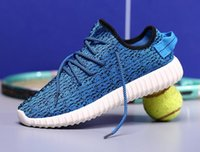 out of - New fashion mens sports casual Unisex Kanye West Yeezy boost the trend of high quality sports shoes