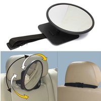 Wholesale 360 Degree Car Safety Easy View Back Seat Mirror Baby Facing Rear Ward Child Infant Care order lt no track