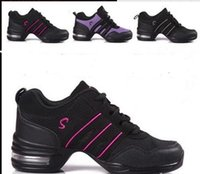 Wholesale 2015 Womens Dance shoes quality goods dancing shoes leather soft bottom square dance shoes