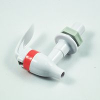 Wholesale IMC New Push Type Plastic Replacement Water Dispenser Tap Faucet White order lt no track
