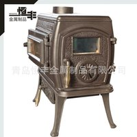 Cheap Cast iron heating furnace true fire fireplace