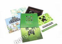 wholesale gift cards - New Arrival Minecraft Greeting Card postcard Minecraft creeper Steve postcard greeting cards Minecraft Gift card Toys