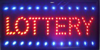 Wholesale 2016 Hot selling LED Lottery sign neon Lottery sign size inch indoor advertising led display