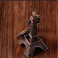 Wholesale 2014 New PC Bronze Tone Paris Eiffel Tower Figurine Statue Metal Craft Home Decor cm