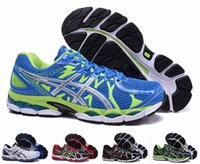 asics gel shoes - Cheap Asics Gel Nimbus Running Shoes For Men Lightweight Cushion Breathable Athletic Sneakers Eur Size