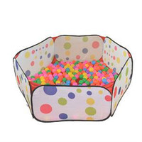 Wholesale New cm Kid Portable Outdoor Indoor Fun Play Toy Tent House Playhut Hut Ball Pool