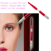 Wholesale Tattoo HandMade Pen Professional Eyebrow Pencil Alloy Stainless Embroidered Eyebrow Tattoo Pen