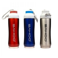 steel water bottles - High Quality Cycling Water Bottle Stainless Steel Thermal New Outdoor Sports Bottle