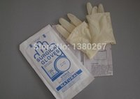 surgical gloves - 7 high quality disposable latex surgical gloves export packing