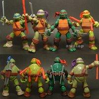ninja turtles - 2015 new Teenage Mutant Ninja Turtles Action Figure tmnt Toy Model for the boys Gift