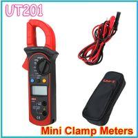 ac register - UNI T UT201 LCD Digital Clamp Multimeter Ohm DMM DC AC Current Voltmeter register shipping