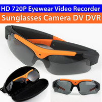 Wholesale 720P HD Camera Smart Glasses Support G TF Card Outdoor Sports Car Driving Polarized Sunglasses Wearable Video Camera