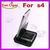 Wholesale 2 in Desktop Cradle Sync Battery Charger Dock Stand Micro for Samsung Galaxy S4 S3 i9500 I9300