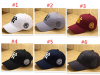 Hats & Scarves Set baseball scarf - 2015 new Fashion Design Unisex NY Yankees cap hat Hip Hop Hats Unisex Adjustable Baseball Cap
