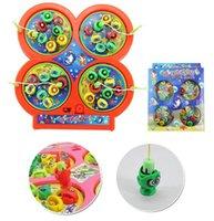Wholesale Hot Sales Kids Children Electronic Pet Toys Puzzle Magnetic Fishing Rod Game Plastic C185