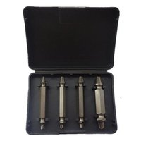 Wholesale S5Q High Speed Screw Extractors Broken Bolt Remover Twist Steel Drill Bits Set AAAFDC