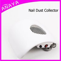 manicure table - White Nails Art Table With Exhaust Fan Manicure Cyclone Nail Dust Collector