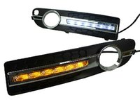 Cheap For Volvo S80L Headlight front bumper light Auto Accessories Fog light lamp LED DRL Daytime Running light 2009 2010 2012 2013