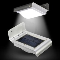 outdoor led security light - 16 LED Solar Power Motion Sensor Garden Security Lamp Outdoor Waterproof wall Lights led lamps For Home Garden Outdoor KB112