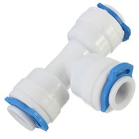 Wholesale New Arrival quot way Union Tee Quick Connect Push Fit RO Water Reverse Osmosis Filter order lt no track