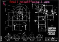 Wholesale GY4 NO11D type boiler pass Fan Drawings Full Machining drawings CAD