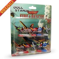 airplanes movies - 10pcs New Arrival Plan aircraft PVC Action Figures airplane Toys Classic Toys dolls Cartoon Anime Movies aeroplane For Kids Party Gifts