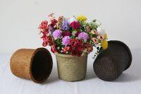 woven basket - Seaweed woven basket
