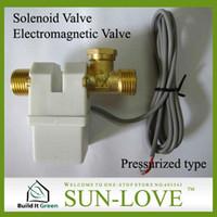 solar water heater controller - AC220V DC12V Electromagnetic Valve Solenoid Size Low Pressure Solar Water Heater Controller Part Upload Water Automatically A3
