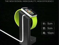 Wholesale For apple watch magnetic charge dock charge stander holder For apple watch E7 stand for apple watch with retail box air post with tracking