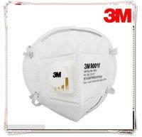 Wholesale 3M Face Masks Disposable breathing mask gauze mask folding belt valve dust mask breathing mask Dust mask in stock DHL