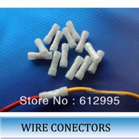 Wholesale 200pcs wire connector terminal line wire pressing hat cold press terminal port