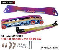 Wholesale TANSKY JDM NEOCHROME REAR SUBFRAME BRR TIE BAR LOWER CONTROL FOR HONDA CIVIC EG TK ASRLCAT EG7C