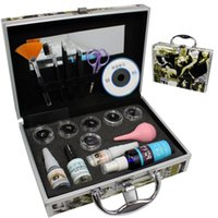 eyelash extension kit - Pro False Eye Lash Eyelash Extension Glue Brush Full Kit Set With Case A