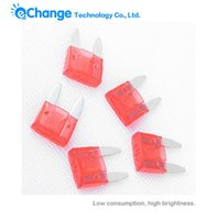Wholesale Pack of A AMP ATM Mini Size Blade Type Car Auto Truck Fuses Red EG5833