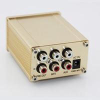 Wholesale New HA010 Mini Mobile Audio Amplifier Digital Computer Stereo Headset Headphone Earphone Hifi Sound System Amplifier V
