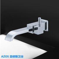 bathroom vanities sets - Contemporary Single Cold Water Tap Wall Mount Bathtub Faucet Bathroom Vanity Sink Faucet Kitchen Basin Tap Toilet Set