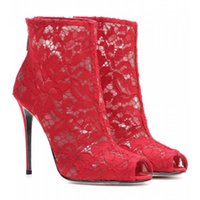 Cheap Lace boots Best Red lace boots