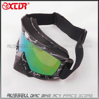 Wholesale 2014 NEW Off Road Cycling Goggle Nose protection Motorcycle Glasses FOR Scooter Dirt Bike Quad ATV MX Racing Helmet