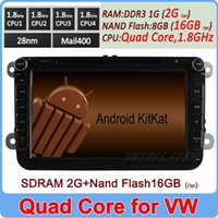 dvd gps vw golf - Quad Core Pure Android Car DVD For Volkswagen VW Polo Jetta Passat CC Tiguan Touran Sharan Caddy Golf Skoda GPS Navigation PC