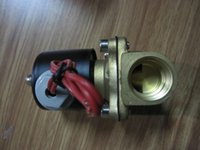 airs plug valves - quot normal close W150 brass two way for air Electric Solenoid Valve VDC24VDC110VAC220VA option