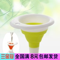 Wholesale G311 scalable creative home kitchen funnel leaking oil leak silicone funnel g