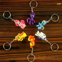 best priced toys - best price best quality my little pony cartoon anime boy Keychain sided soft toys for kids in stock now D268