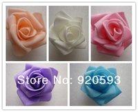 Cheap Free shipping 50pcs PE foam rose flower handmade DIY wedding home decoration artificial flower made flower balls and hand flower