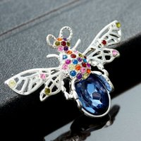 amazing just - New Arrival Amazing High Quality Bee Brooches For Women With Top Quality Austrian Crystal And Rhinestone Just CJ049