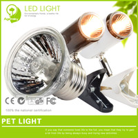 Wholesale Turtle lamp tortoise backlight heated uva uvb reptile lamp full sun burner w